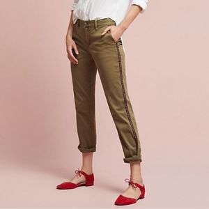 Relaxed Striped Chino by Anthropologie